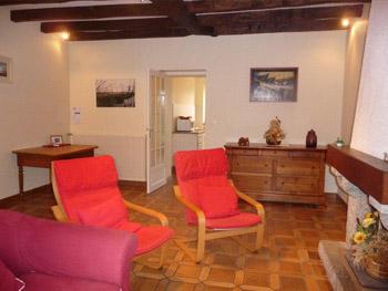 Salon du gîte Champfleuri Machecoul