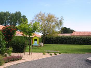 Jardin du gîte La Chaume